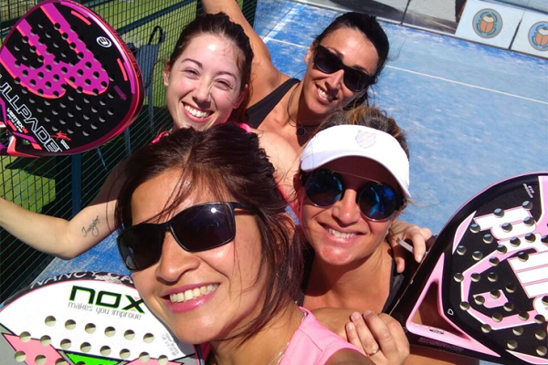 3 day intensive midweek Padel clinic: for groups with their specific composition